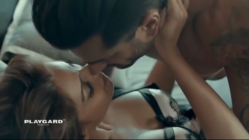 Hot couple Karan Singh Grover and Bipasha Basu get steamy while promoting safe sex; Watch Video Now