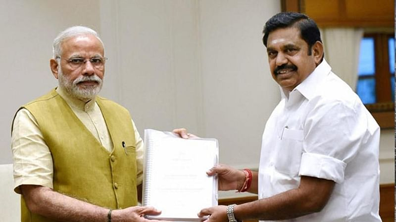 Tamil Nadu: CM Palaniswami thanks PM Narendra Modi for AIIMS at Thoppur in Madurai