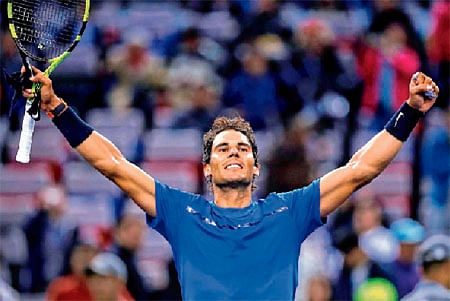 Nadal pulls out of Swiss Indoors Basel tourney