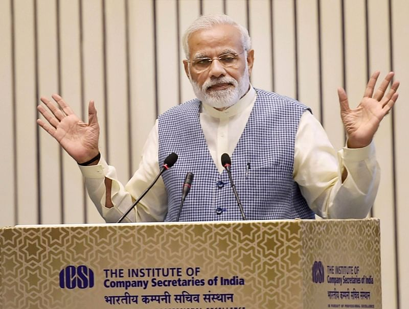 Certain states lagging due to governance deficit: PM Modi