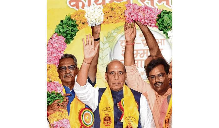 India is not a weak nation anymore: Rajnath Singh
