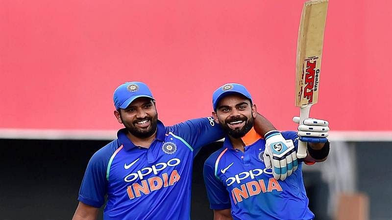 ICC ODI rankings: Rohit Sharma back in top-5, Virat Kohli No.1 batsman