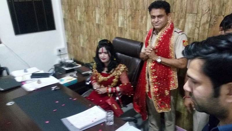 Radhe Maa photo controversy: Delhi Police promises action against offenders