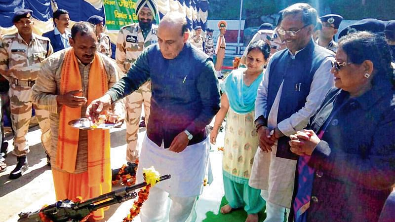 People living on China border our strategic assets: Rajnath Singh