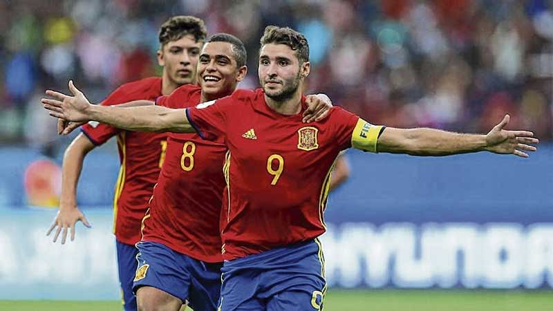 Spain beat Iran to enter semi-finals in FIFA U-17 World Cup