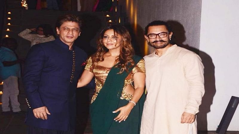 Diwali 2017: SRK, Mukesh Ambani and other celebs enjoy at Aamir Khan's Diwali Bash; See pictures