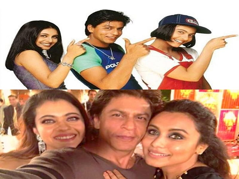 See Pictures: Shah Rukh Khan feels nostalgic; thanks his leading ladies for being part of his career