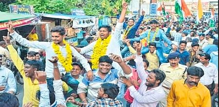 Ujjain: ABVP sweeps students union polls, NSUI clinch Madhav, Sandipani