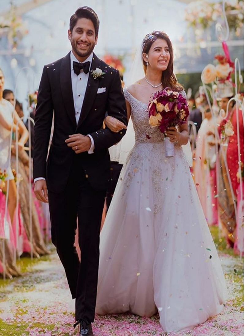 Samantha-Naga Chaitanya Wedding: Here are some glimpses of the Christian marriage of this adorable couple