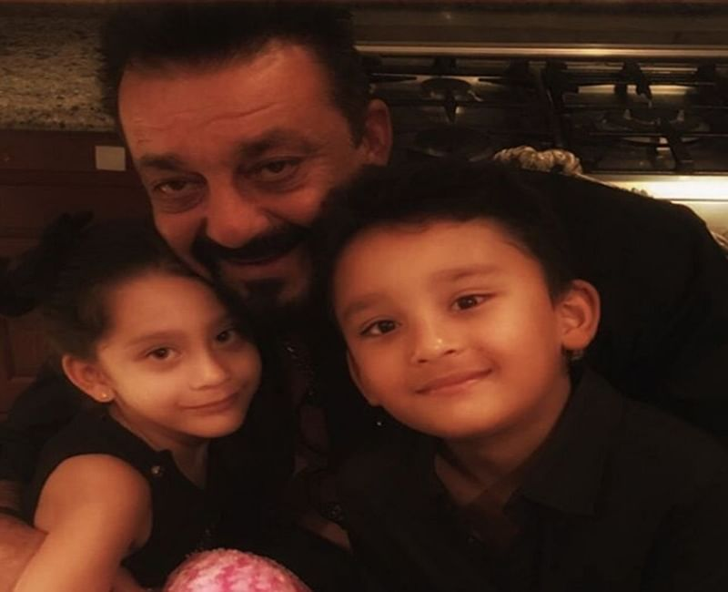 Watch Video: Sanjay Dutt relives childhood on the sets of 'Saheb Biwi Aur Gangster 3'
