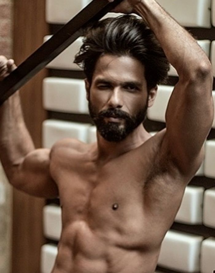 Shahid Kapoor's hot gym 'Good Morning' picture will give you serious fitness goals