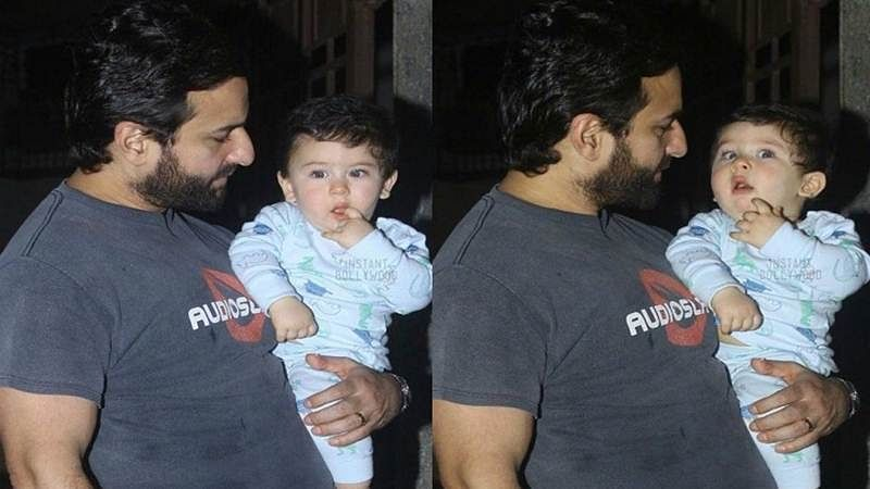 So, who does Taimur look like exactly, Kareena or Saif? Here's what daddy has to say