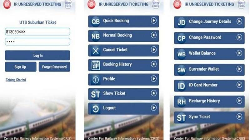 How to book a train ticket, buy or renew pass using UTS mobile ticketing app; now also available on iOS