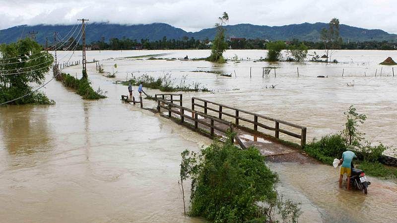 Watch: Flood water sweeps tractor away in Madhya Pradesh's Malhargarh