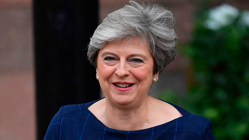 Draft Brexit agreement right deal for UK: Theresa May