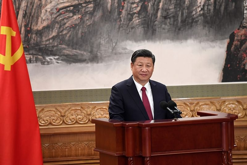 Xi Jinping secures 2nd term as head of China's ruling Communist Party