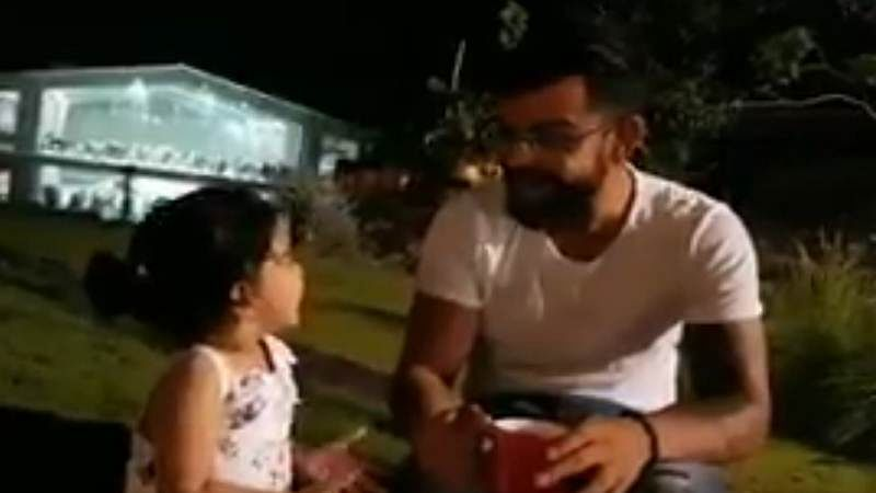 This adorable video of Virat Kohli playing with Ziva will drive away your Monday morning blues