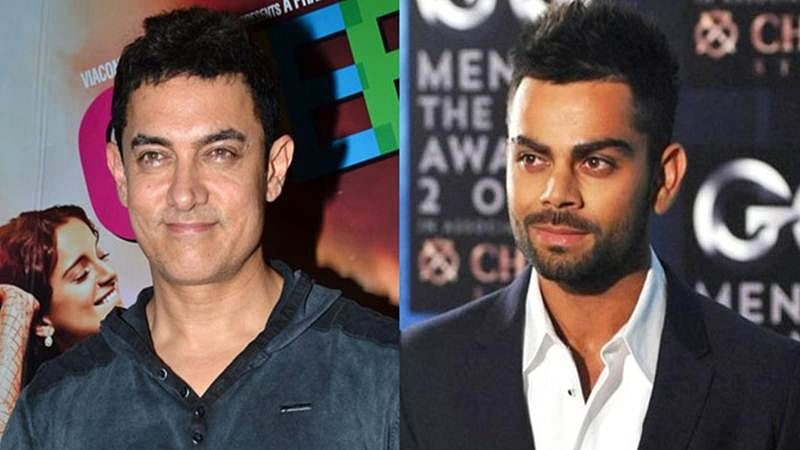 Wow! Aamir Khan, Virat Kohli come together for a chat show this Diwali