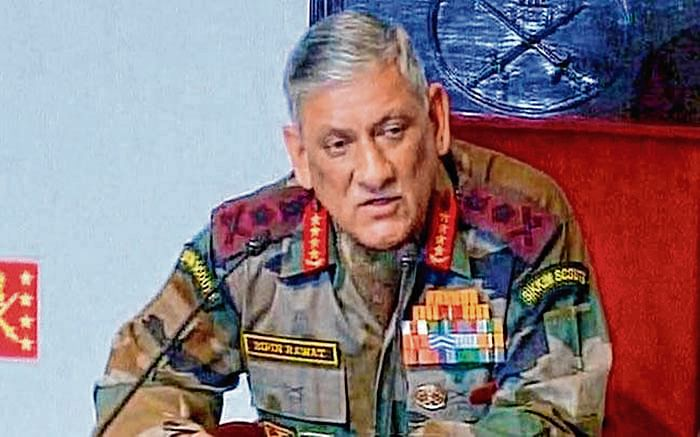 Every Army has to prepare for conflict: General  Bipin Rawat