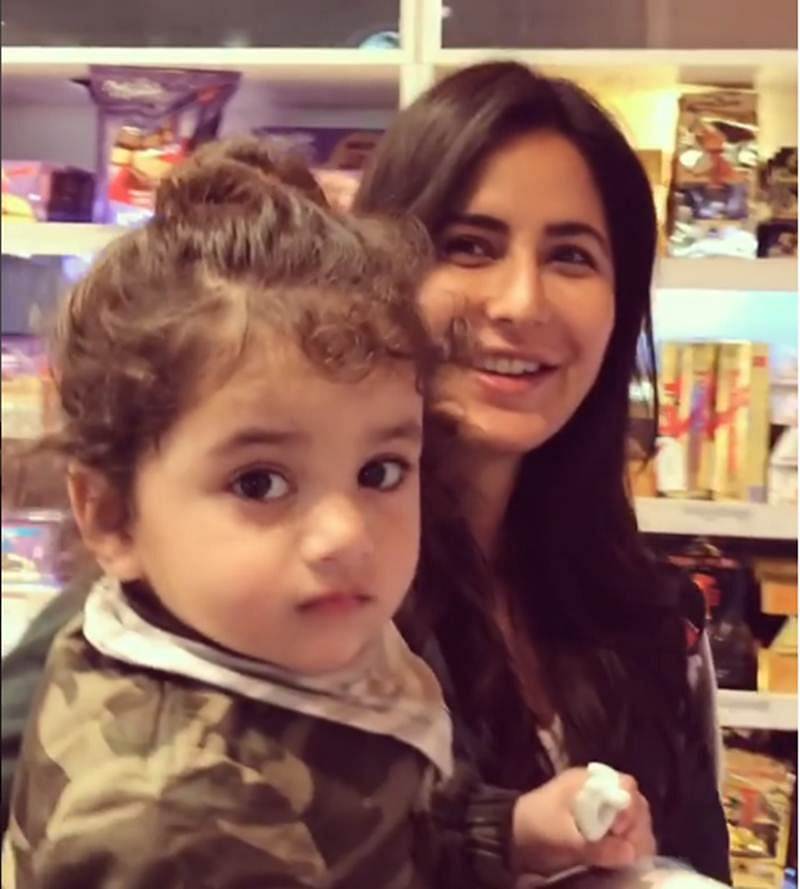 So Cute! This video of Katrina Kaif with baby is just too adorable
