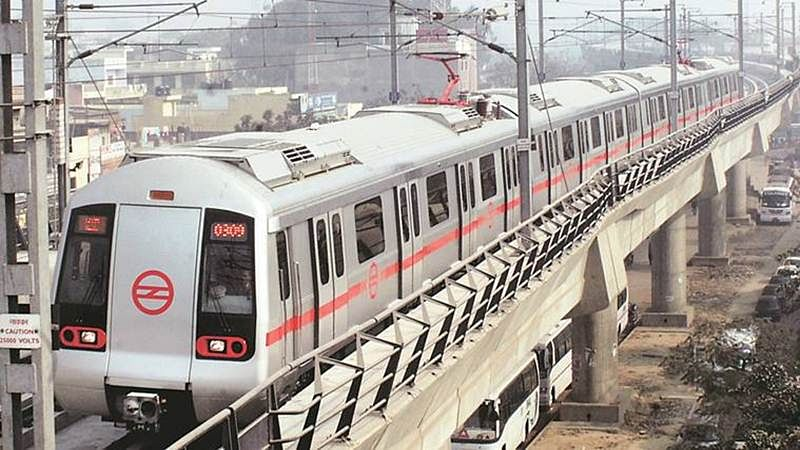 Delhi Metro steel girder falls in Ghaziabad, few injured