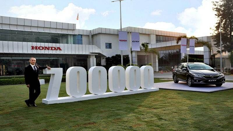 Honda City Clocks 7 Lakh Cumulative Sales In India