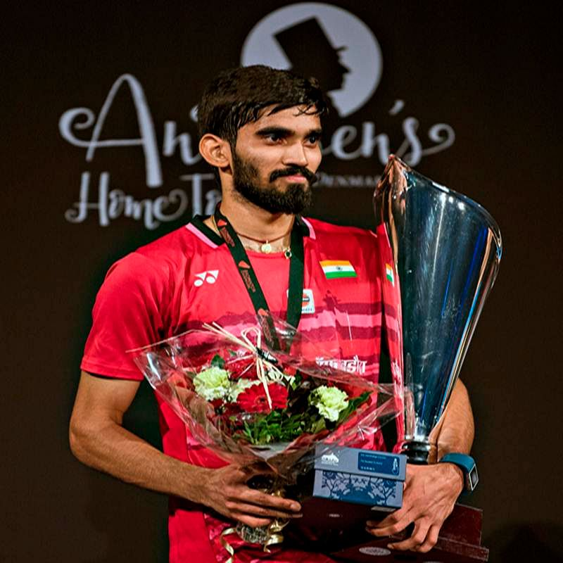 Indian Shuttler Kidambi Srikanth wins Denmark Open title