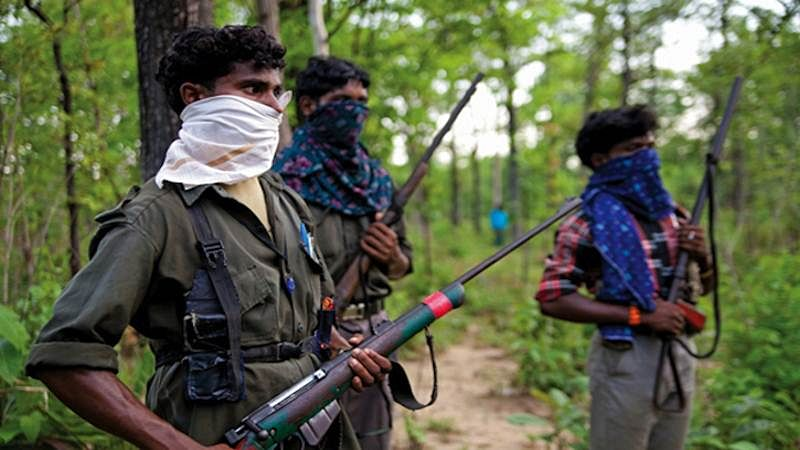 Naxal commander carrying cash reward held in Chhattisgarh