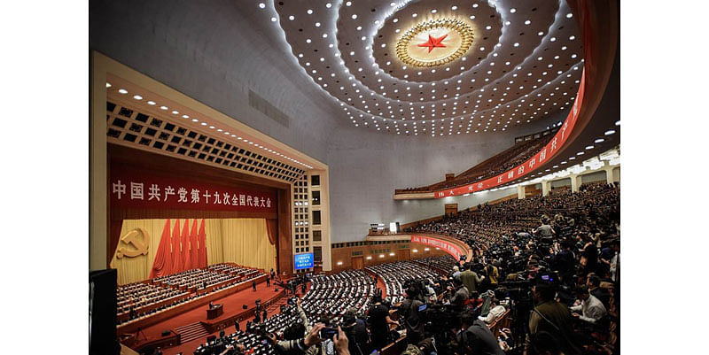 Xi in league of China's greats now, his doctrines go into party statute