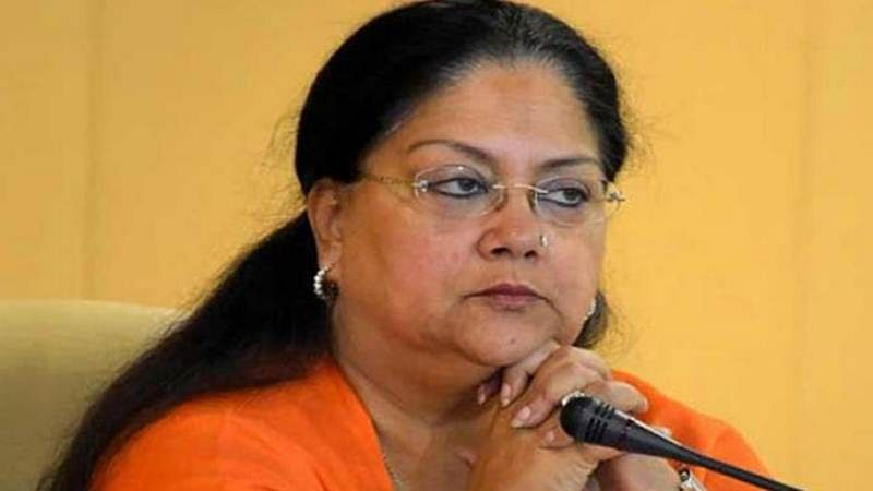 Lok Sabha elections 2019: Vasundhara Raje slams Congress, asks what their governments did for 55 years