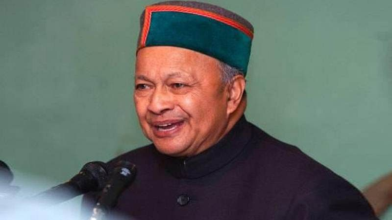 Former Himachal CM Virbhadra Singh admitted to hospital following complaints of chest congestion