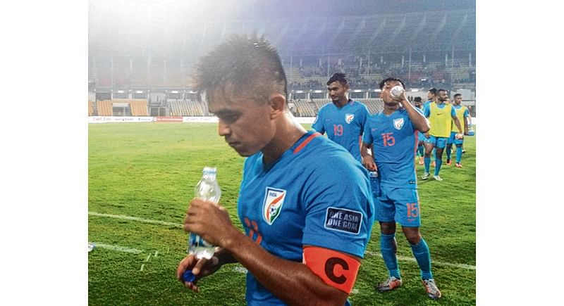 India rally to hold Myanmar in AFC Asian Cup Qualifier