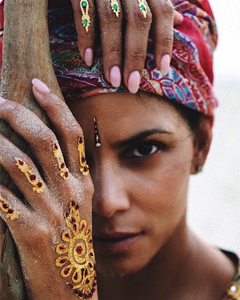 Halle Berry in India: See pics that show the Hollywood star having a gala time
