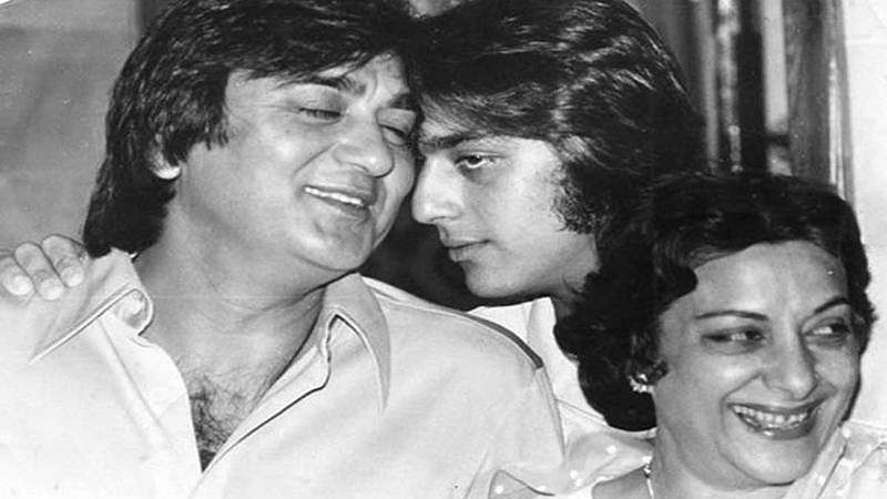 Throwback Thursday: Sanjay Dutt shares adorable pic with parents
