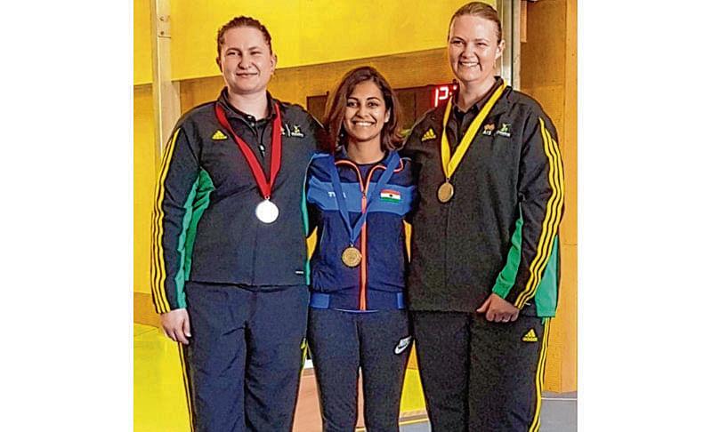 Sidhu clinches gold, Deepak gets bronze
