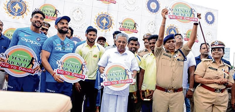 Virat Kohli supports anti-drugs campaign