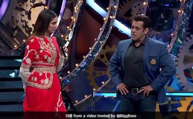 Salman Khan dons his Race 3 look on Bigg Boss!