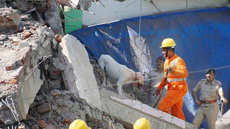 Thane: Four storey building collapses in Bhiwandi, 1 dead