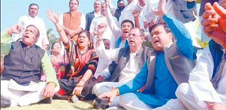 Bhopal: Cong ruckus over rising crime against women