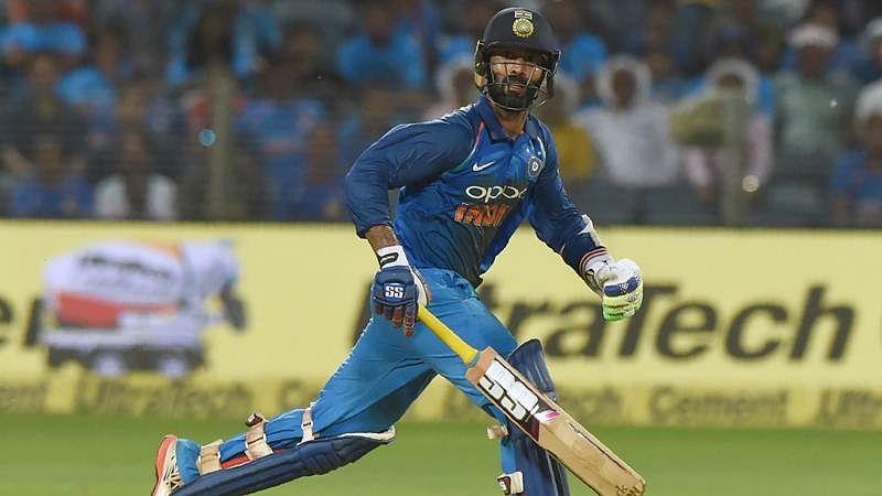 Just 1 ball in final over? Mumbai Indians' jibe at Dinesh Karthik over refusing single to Krunal Pandya at Hamilton