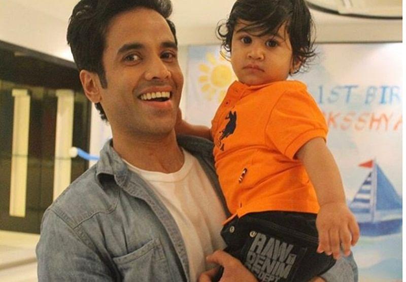 Happy Birthday Tusshar Kapoor: Adorable photos of Tusshar with son Laksshya