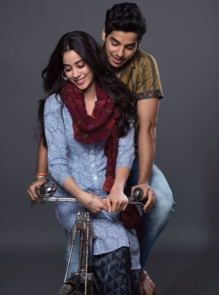 Dhadak: Karan Johar shares new poster of Janhvi Kapoor and Ishaan Khattar starrer; check it out