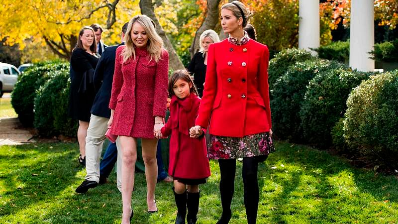 National Thanksgiving Turkey: Ivanka Trump's fashion steals the show, see pictures