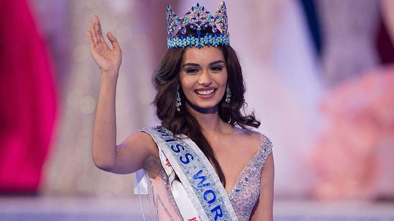 This pic is proof that Miss World Manushi Chhillar will make a beautiful bride (See Picture)