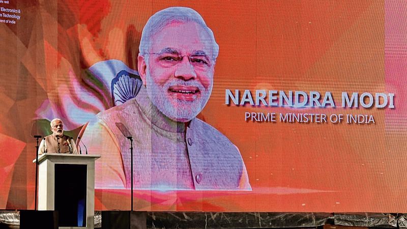 Ensure digital space doesn't become playground for terror, says PM Modi