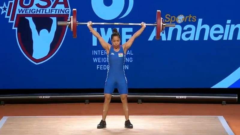 Mirabai Chanu wins maiden gold medal at 2017 World Weightlifting Championship; watch video