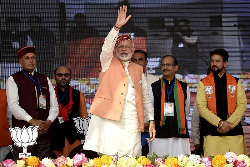 PM Modi tears into Cong, accuses it of corruption, nepotism