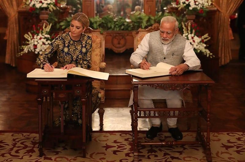 GES 2017: Five-course menu served at dinner hosted by PM Narendra Modi for Ivanka Trump at Taj Falaknuma