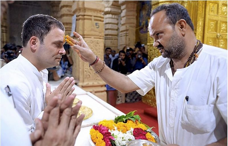 Rahul Gandhi's name on register for 'non-Hindus' at Somnath temple sparks row