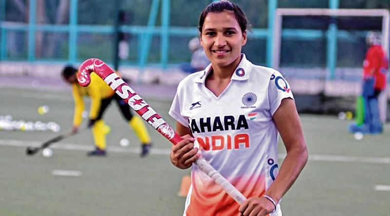 Rani Rampal, newly appointed captain of Indian Women Hockey
